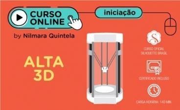 Curso Online Impressora 3D Silhouette Alta