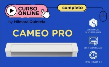 Curso Online Completo Silhouette Cameo PRO