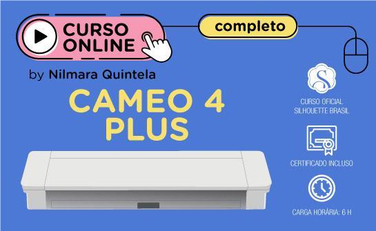 Curso Online Completo Silhouette Cameo 4 Plus