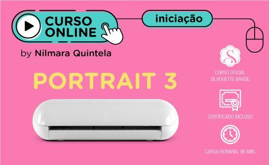 Curso Online Iniciação a Silhouette Portrait 3